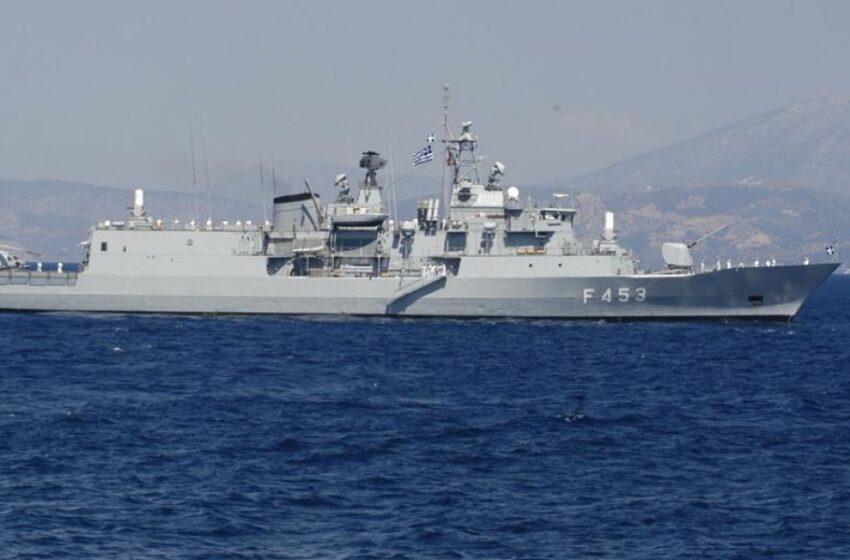 Περιστατικό με εμπλοκή ελληνικής φρεγάτας και τουρκικού εμπορικού ανοιχτά της Λιβύης (vid)