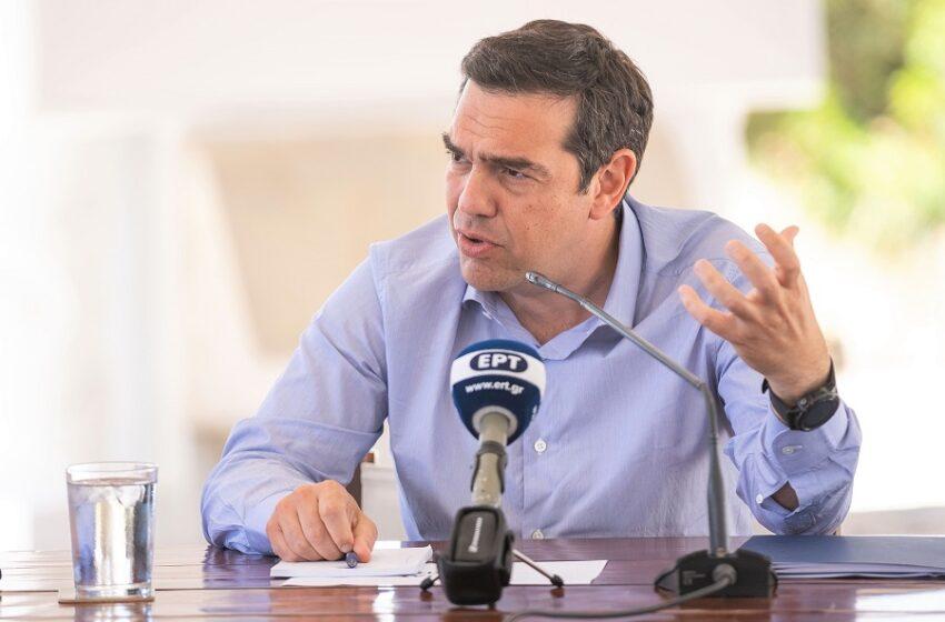 Αλ. Τσίπρας: Μαφιόζικες πρακτικές και ανύπαρκτη σκανδαλολογία για να κρύψουν το μεγάλο σκάνδαλο της ύφεσης