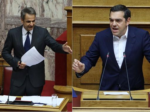 """Αναβάλλεται η """"μετωπική"""" – Πότε θα απαντήσει ο Μητσοτάκης στον Τσίπρα"""