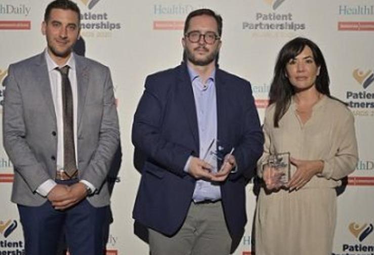 Βράβευση ΟΚΑΝΑ στα Patient Partnerships Awards 2020
