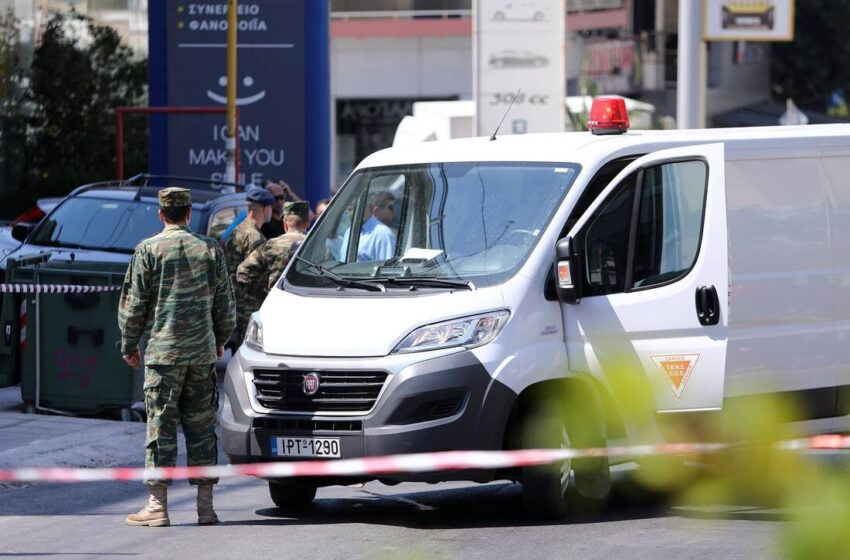 Aπομακρύνθηκε με τη συνδρομή του στρατού, η χειροβομβίδα που εντοπίστηκε σε πλυντήριο οχημάτων στο Κερατσίνι