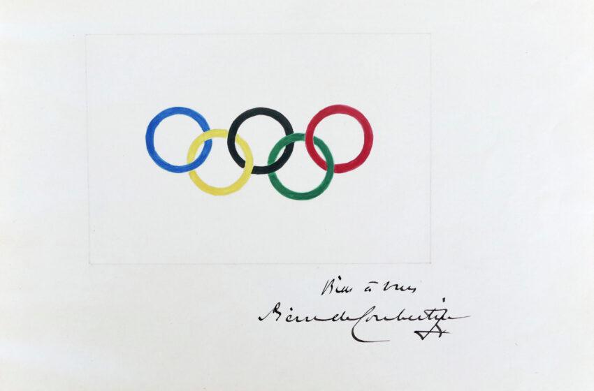 Σχέδιο της Ολυμπιακής σημαίας από τον Κουμπερτέν πωλήθηκε σε δημοπρασία έναντι 185.000 ευρώ