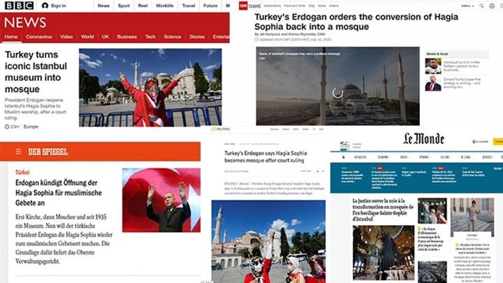 H Αγία Σοφία τζαμί: Τι μεταδίδουν τα διεθνή ΜΜΕ (εικόνες)