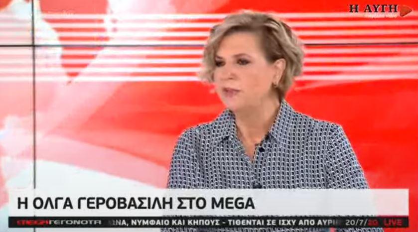 Γεροβασίλη: Δρούσε παρακρατικός μηχανισμός τα χρόνια που κυβερνούσε ο ΣΥΡΙΖΑ (vid)
