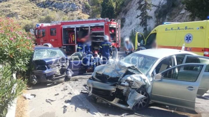 Τραγωδία στα Χανιά: Μία νεκρή και δύο σοβαρά τραυματίες (εικόνες)
