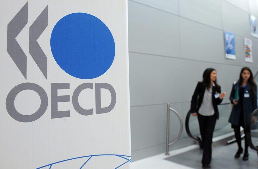 Έκθεση του ΟΟΣΑ για την ελληνική οικονομία – Ύφεση έως 9,8%