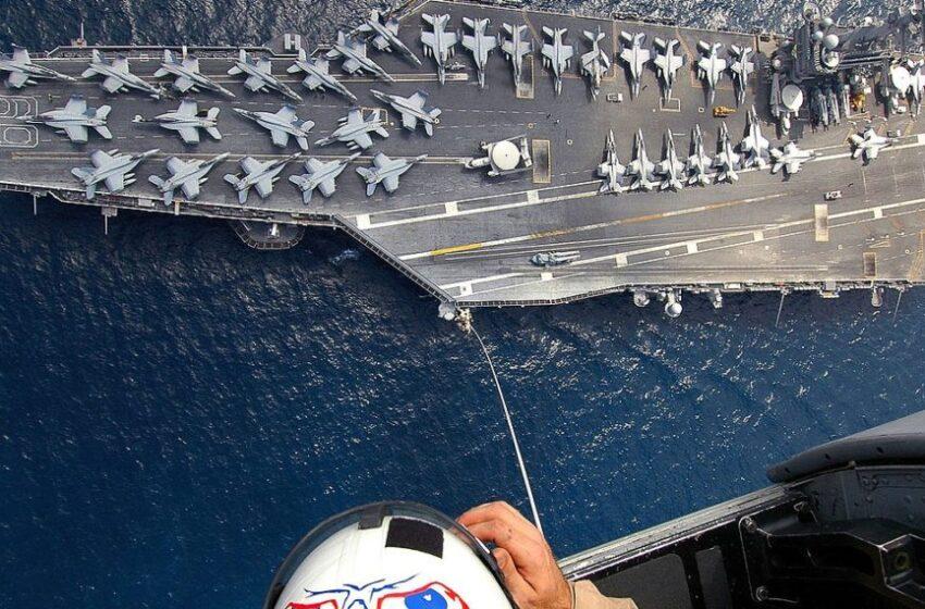 """Σε """"διπλό ταμπλό"""" το """"Άϊζενχάουερ"""": Πρώτα ασκήσεις με την ελληνική πολεμική αεροπορία και μετά με το τουρκικό ναυτικό…"""