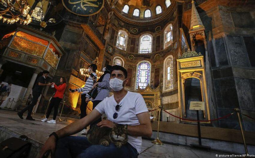 "H ""επιχειρηματολογία"" των Τούρκων για την μετατροπή της Αγίας Σοφίας σε τζαμί"