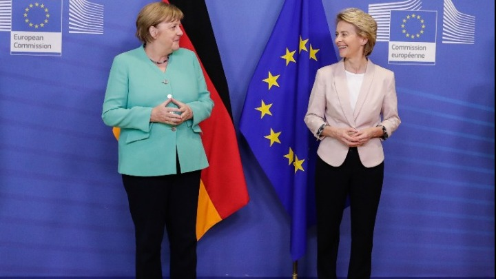 Υπέρ της ισχυρής συνεργασίας των ευρωπαϊκών θεσμών τάχθηκαν Μέρκελ, Φον Ντερ Λάιεν, Μισέλ και Σασόλι