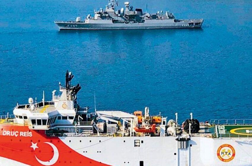 Αμοιβαία αποκλιμάκωση και αποχωρήσεις πολεμικών πλοίων στο ανατολικό Αιγαίο (vid)