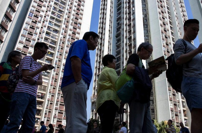 Συμβολική ψήφος διαμαρτυρίας για την νομοθεσία εθνικής ασφάλειας που επέβαλε το Πεκίνο στο Χονγκ Κονγ