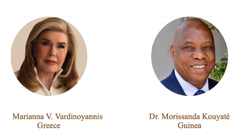 Στην Μ. Βαρδινογιάννη και στον δρ. Μ. Κουγιάτε απονέμεται το βραβείο Νέλσον Μαντέλα για το 2020
