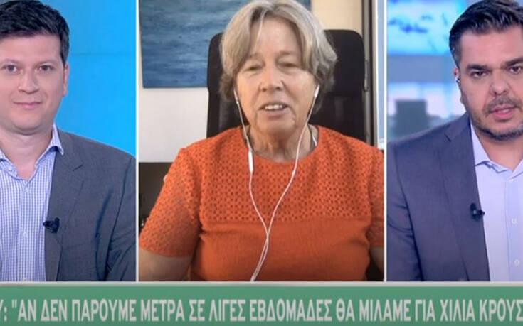 """""""Βόμβα"""" από Λινού: Σε λίγο θα μιλάμε για 1000 κρούσματα στην Ελλάδα"""