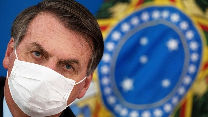 """Βραζιλία: Ο πρόεδρος Μπολσονάρου """"πάει καλά"""" και λαμβάνει υδροξυχλωροκίνη"""