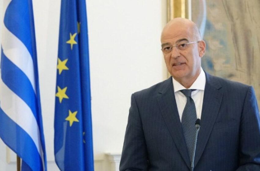 Δένδιας: Η έξοδος του Barbaros στην κυπριακή ΑΟΖ παραβιάζει κατάφορα το Διεθνές Δίκαιο