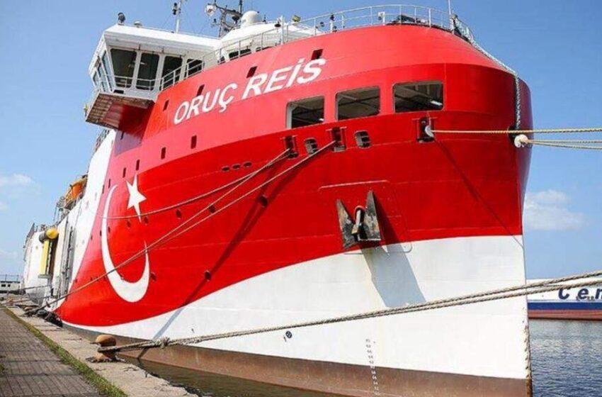 Η Τουρκική πρεσβεία άλλαξε την ανακοίνωση για το Oruc Reis