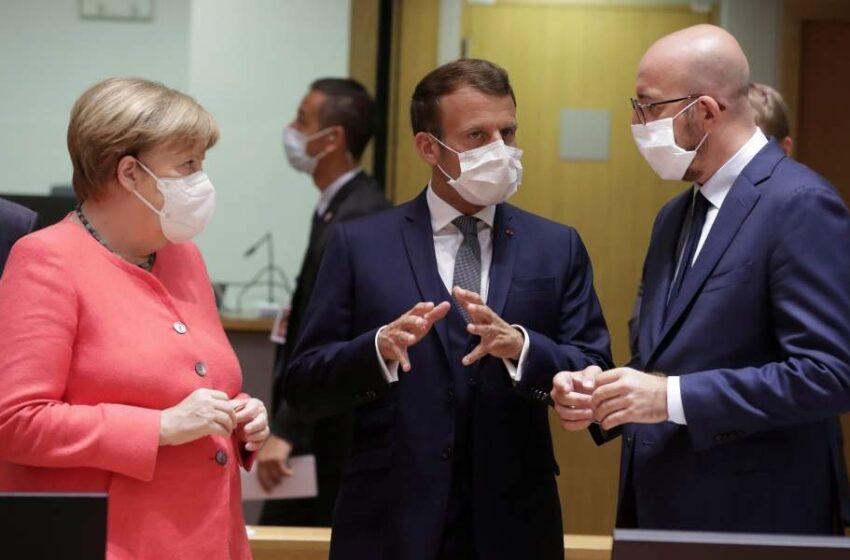 Politico: Ποιος φόρεσε την καλύτερη μάσκα στη Σύνοδο Κορυφής (εικόνες)