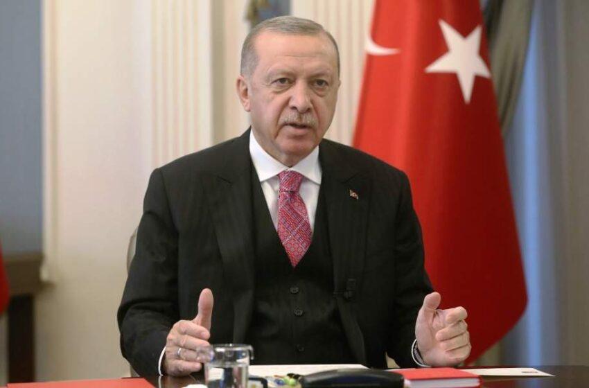 Ερντογάν: Στο Ιράκ, τη Συρία, τη Λιβύη, το Αιγαίο θα δείξουμε την δύναμή μας χωρίς δισταγμό