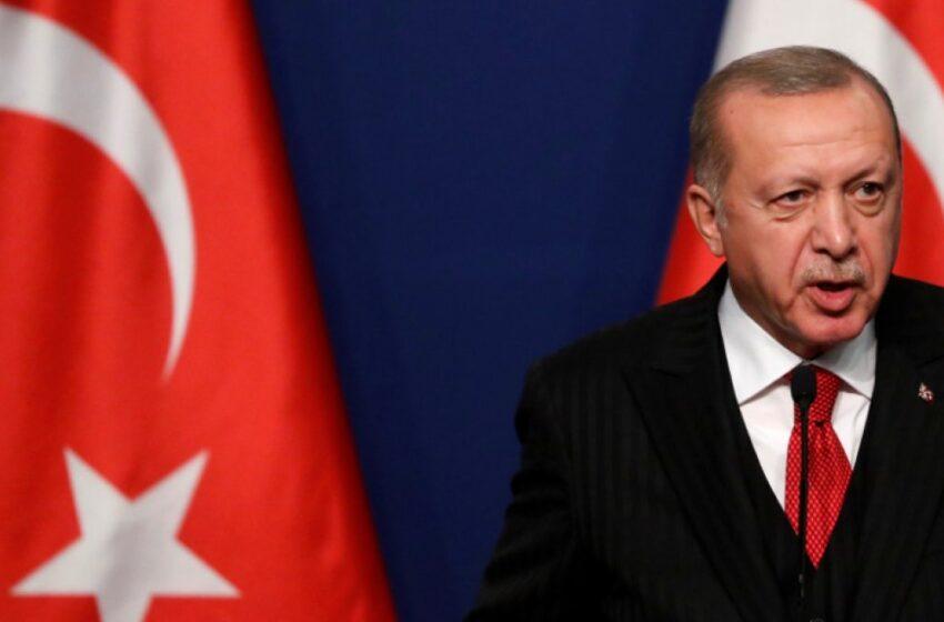 Επιμένει ο Ερντογάν: Θα προστατεύσουμε τα δικαιώματά μας σε αν. Μεσόγειο και Αιγαίο
