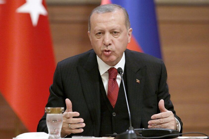 Ερντογάν: Δεν χρειαζόμαστε την άδεια κανενός για τα γεωτρύπανά μας