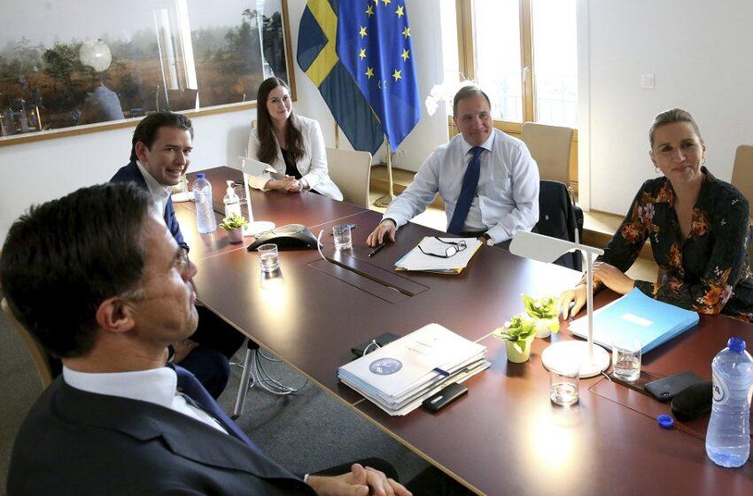 """Αυτοί οι 4 """"φρενάρουν"""" τη συμφωνία για το Ταμείο Ανάκαμψης"""