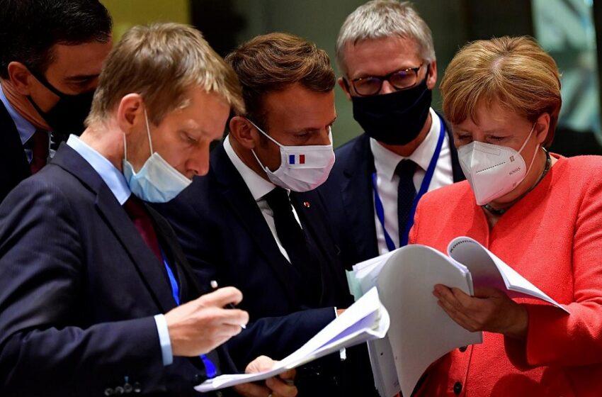 """Σύνοδος Κορυφής: """"Λευκός καπνός"""" – Για ιστορική μέρα μίλησε ο Μακρόν"""