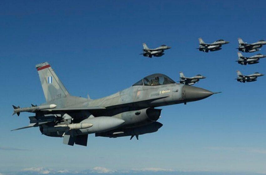 """Ελληνοτουρκικές """"αερομαχίες"""" στο Καστελόριζο"""