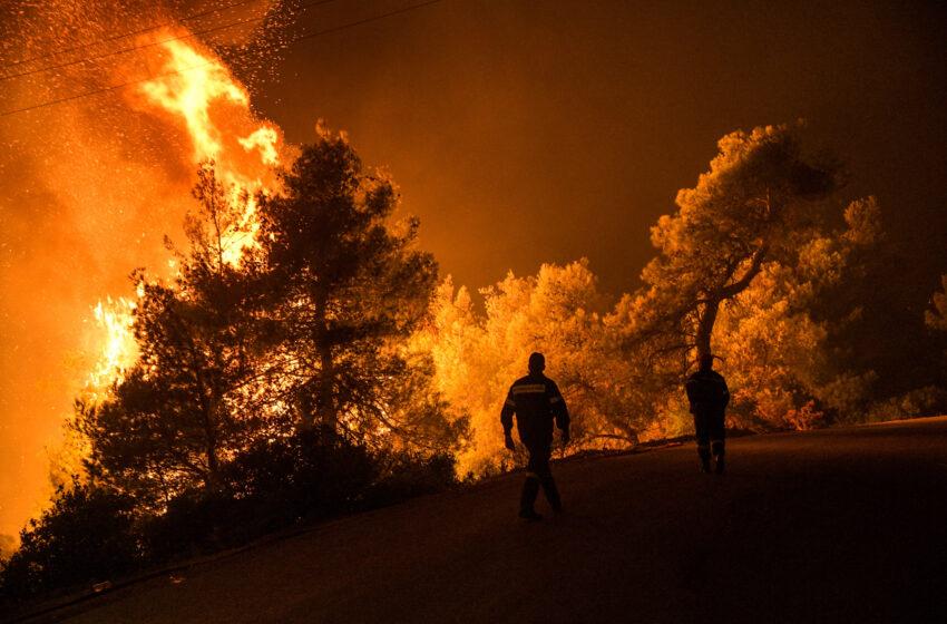 Στις φλόγες η Ελλάδα: 63 πυρκαγιές σε όλη τη χώρα το τελευταίο 24ωρο