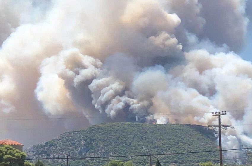 Εξήντα δύο δασικές πυρκαγιές το τελευταίο 24ωρο σε όλη την Ελλάδα