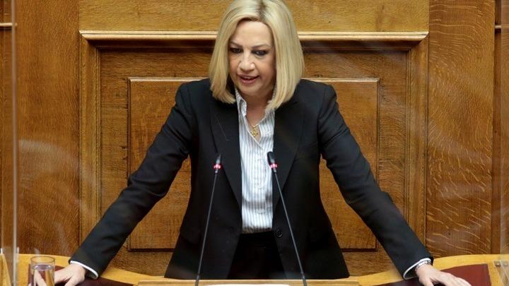 Γεννηματά: Χαμένη η Ελλάδα από τις αποφάσεις στη Σύνοδο Κορυφής για την Τουρκία