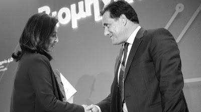 """Ο Παντελής Μπουκάλας σχολιάζει την βράβευση της """"Ελληνικής Αγωγής"""" του Άδωνι από την Άννα Διαμαντοπούλου…"""
