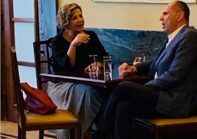 Τι συζήτησαν Γεροβασίλη – Γεραπετρίτης στο καφενείο της Βουλής – Και μια λεπτομέρεια