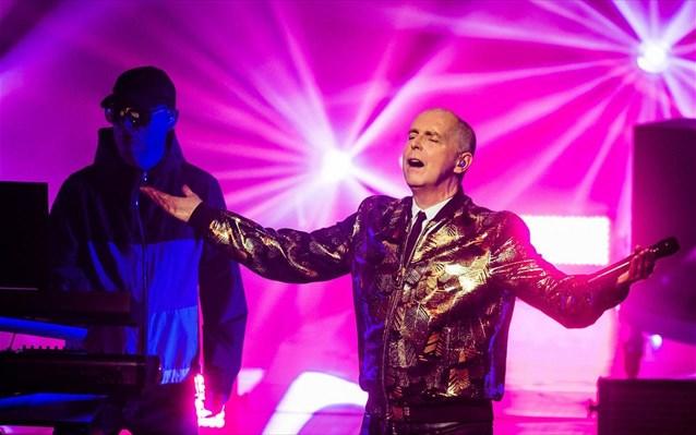 Οι Pet Shop Boys στο Release Athens του 2021
