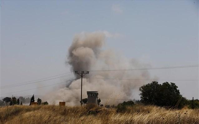 Νέες εκρήξεις στα σύνορα Συρίας – Ισραήλ
