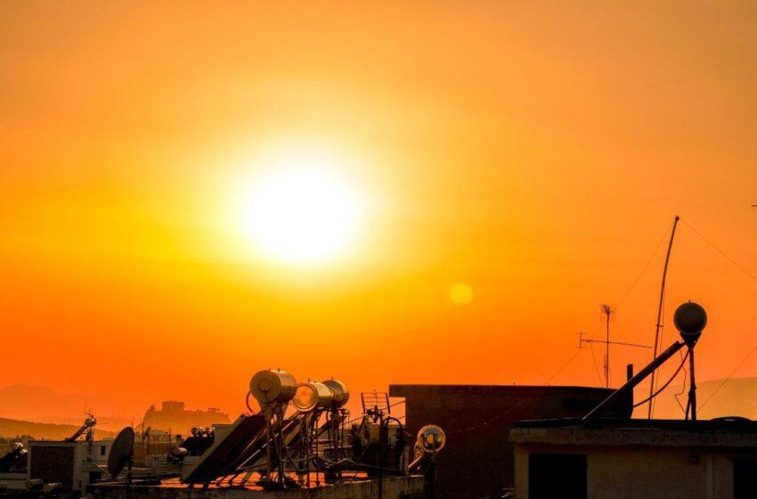 Καύσωνας ενόψει με θερμοκρασίες κοντά στους 40 βαθμούς
