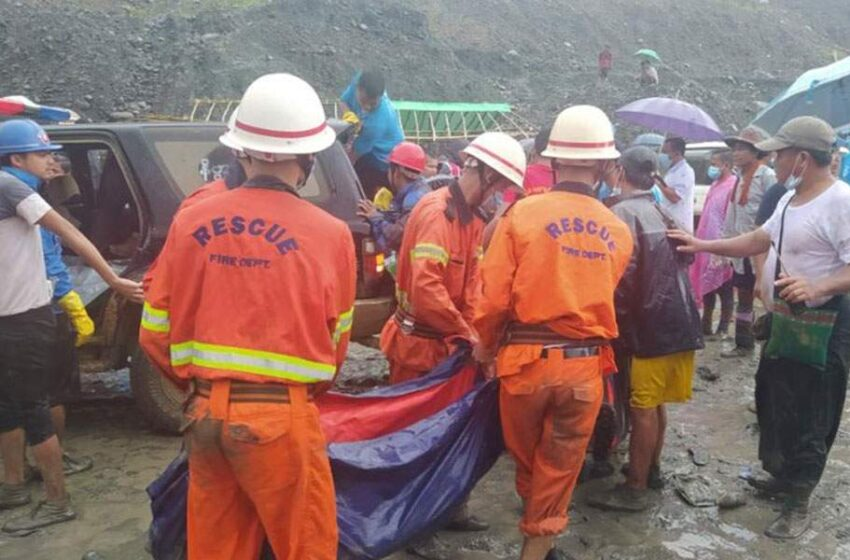 Ασύλληπτη τραγωδία στη Μιανμάρ: Πάνω από 160 νεκροί από κατολίσθηση σε ορυχείο