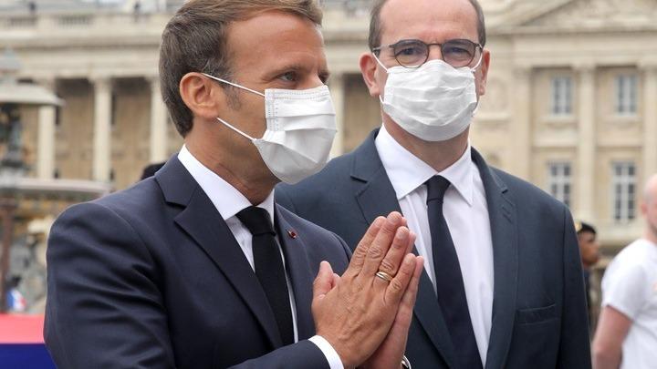 Μακρόν: Η χρήση μάσκας στους κλειστούς δημόσιους χώρους θα καταστεί υποχρεωτική