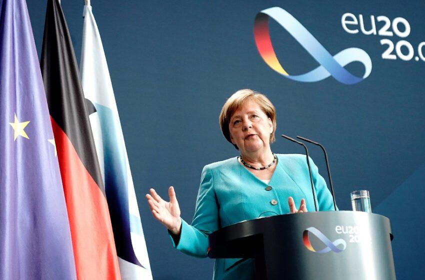 Μέρκελ: Πηγαίνω στις Βρυξέλλες στις 17 Ιουλίου για να πετύχω συμφωνία