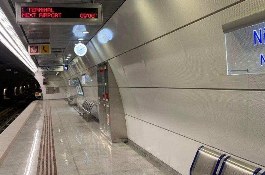 Στάση εργασίας στο μετρό μέχρι τις 10