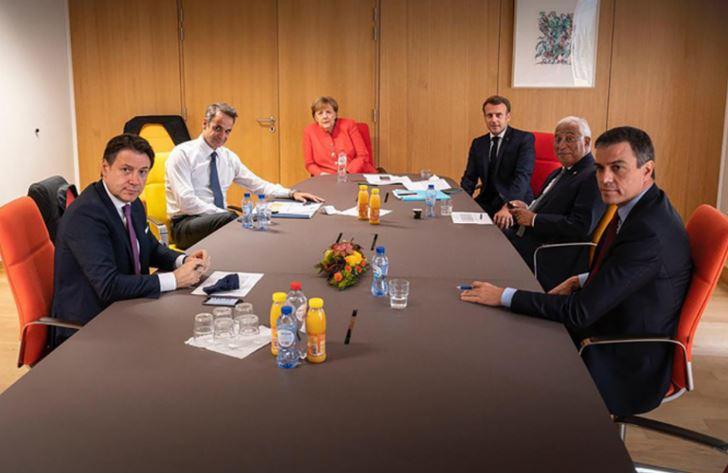 Νέες επαφές Μητσοτάκη με Ευρωπαίους ηγέτες