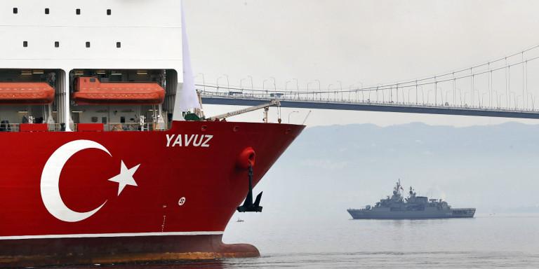 """""""Απτόητη"""" η Άγκυρα: Navtex για γεωτρήσεις νοτιοδυτικά της Κύπρου"""