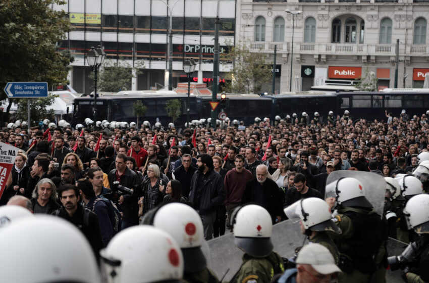 Ένωση Εισαγγελέων προς Χρυσοχοϊδη: Δεν είναι δουλειά των εισαγγελέων η διάλυση των συναθροίσεων