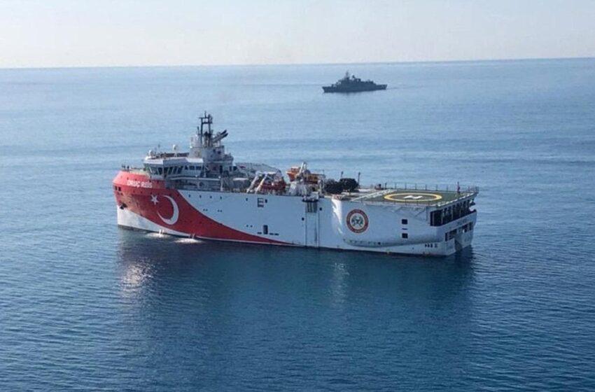 Η Τουρκία ισχυρίζεται πως το Oruc Reis ξεκίνησε σεισμικές έρευνες- Τι λέει το Πεντάγωνο
