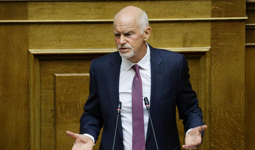 """Ο Παπανδρέου """"σπάει την γραμμή""""  Γεννηματά: """"Αντιδημοκρατικό το νομοσχέδιο για τις διαδηλώσεις"""" (vid)- Τριγμοί στο ΚΙΝΑΛ"""