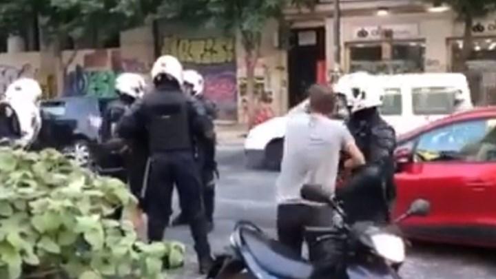Η απάντηση της Αστυνομίας για το βίντεο στην Πατησίων – Τι λέει για τις μολότοφ