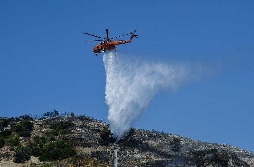 Για ποιες περιοχές προειδοποιεί η ΓΓΠΠ για αυξημένο κίνδυνο πυρκαγιών
