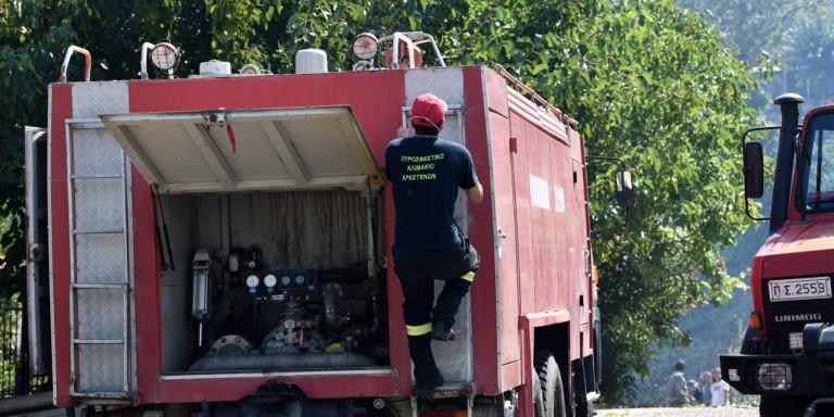 Υπό μερικό έλεγχο η πυρκαγιά σε δασική έκταση στο Πόρτο Γερμενό