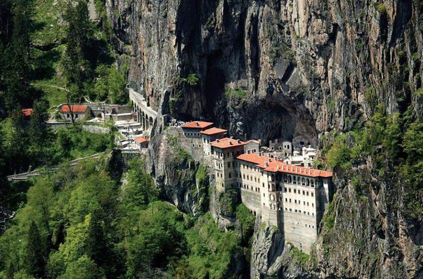 """""""Εστία"""": Ο Ερντογάν σκοπεύει να μετατρέψει σε ιεροδιδασκαλείο και την Ιερά Μονή Παναγίας Σουμελά στον Πόντο"""