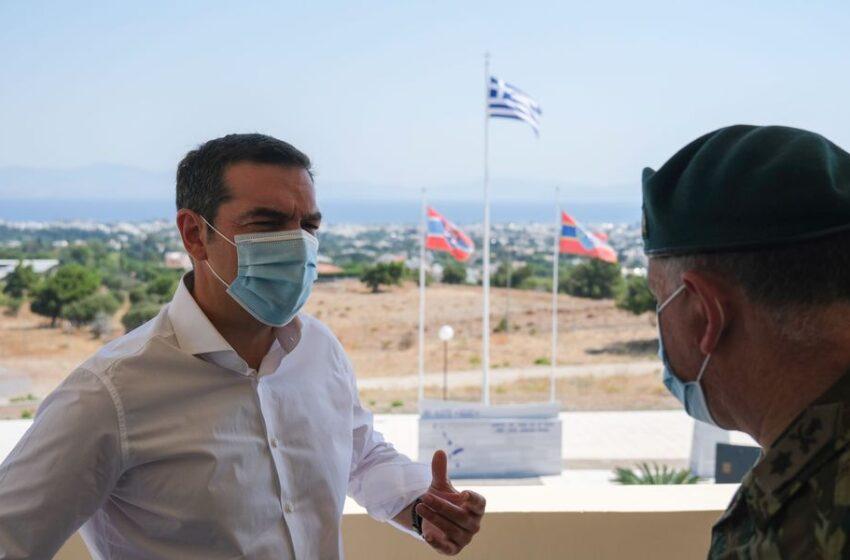 Μήνυμα Τσίπρα για ελληνοτουρκικά: Η μόνη διαφορά Ελλάδας – Τουρκίας είναι η υφαλοκρηπίδα