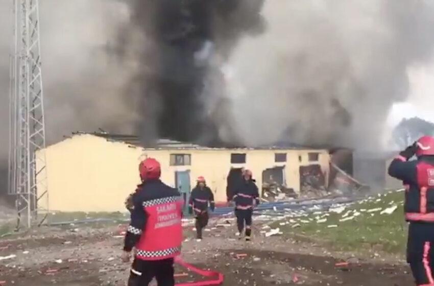 Τουρκία: Νεκροί και τραυματίες από έκρηξη σε εργοστάσιο πυροτεχνημάτων (vid)